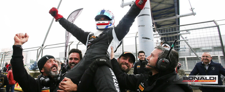 Bonaldi Motorsport, grande prova di squadra al 'Ring