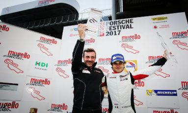 Carrera Cup Italia, Pellegrinelli vince al Mugello