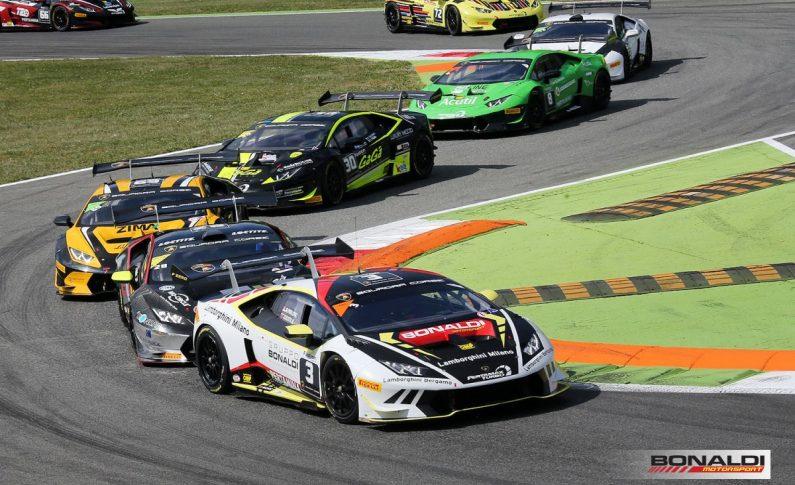 Lamborghini Super Trofeo, si riparte da Monza