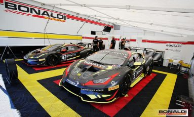Bonaldi Motorsport at Spa exam