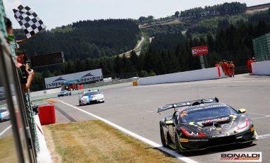 Doppio successo per Bonaldi Motorsport a Spa