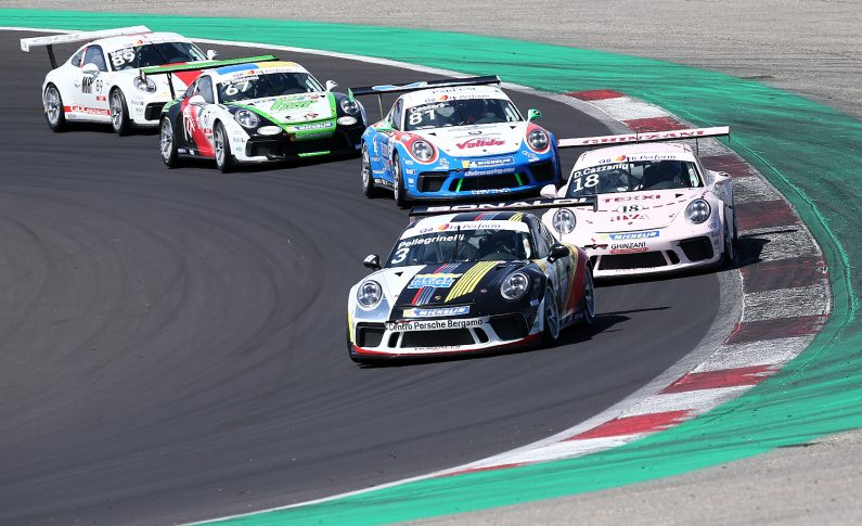 Carrera Cup Italia, Pellegrinelli quinto a Vallelunga