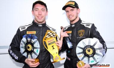 Lamborghini Super Trofeo, immediately winners!