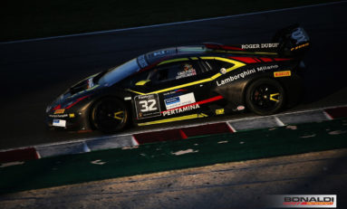 Lamborghini Super Trofeo, in Zandvoort as pursuers