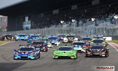 Lamborghini Super Trofeo, at Jerez in Spain the grand finale