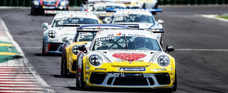 Ad Imola per il terzo round di Carrera Cup Italia