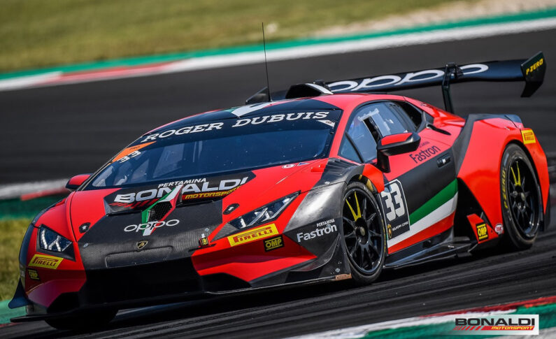 Lamborghini Super Trofeo… and it is immediately victory!