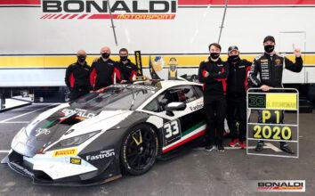 2020 - Super Trofeo, Bonaldi Motorsport champion with Stoneman!