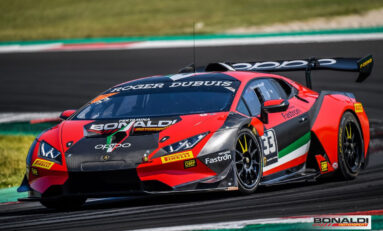 Lamborghini Super Trofeo, test at Misano for Steven Aghakhani