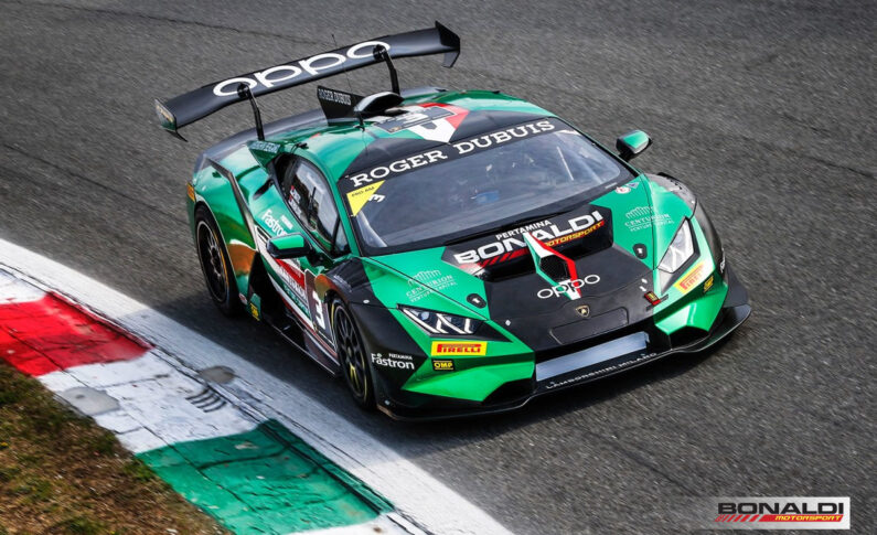 Lamborghini Super Trofeo, tough debut in Monza