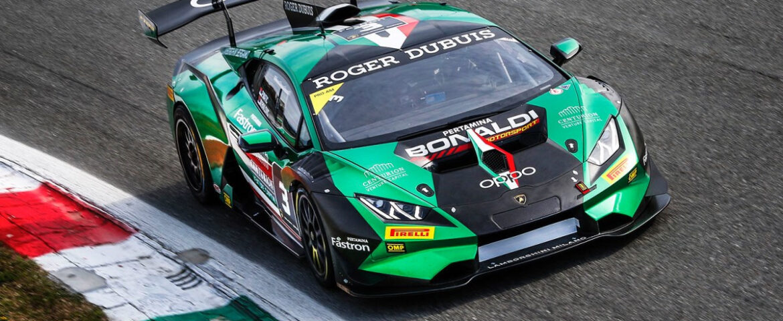 Lamborghini Super Trofeo, debutto in salita a Monza