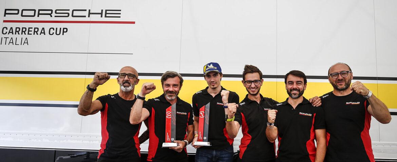 Carrera Cup Italia, al Mugello è vittoria!