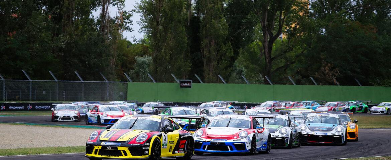 Carrera Cup Italia, Moretti secondo e quarto ad Imola